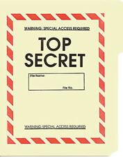 Top Secret File Folder 5-Pack