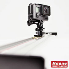 Hague GoPro Slider for GoPro Hero, Session & Action Cameras. Compact Slider Rail