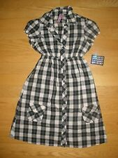 WOMENS 2PC SUPER SEXY COWGIRL HALLOWEEN COSTUME PLAID PRINT SIZE SMALL W/TRA