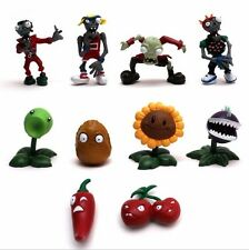 10pcs/set Plants vs Zombies Series Games Toy PVC Doll Figure Model Toy Gift New