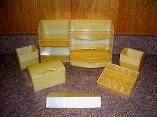 Vintage South Beach Beauties - Cosmetic Counter/Table Top Organizer