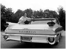 1959 Oldsmobile Super 88 Holiday Sport Sedan press photo 8 x 10 photograph