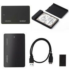 "ORICO 2599US3 USB3.0 SATA External 2.5"" SSD HDD Hard Drive Disk Case Enclosure J"
