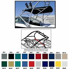 SUNBRELLA  BIMINI TOP GLASTRON GX 205 WAKEBOARD EDITION W/ TOWER 2005