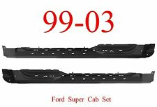 99 03 Ford Super Cab Extended Rocker Panel SET, F150, 4 Door Truck, Left & Right