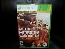 Medal of Honor: Warfighter  (Xbox 360, 2012) EUC