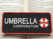 New Resident Evil UMBRELLA CORPORATION TACTICAL AIRSOFT PVC BADGE PATCH