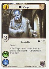 3 x Varys AGoT LCG 1.0 Game of Thrones Secrets and Spies 97