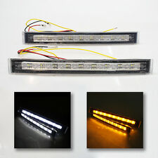 Front Fog Spot Lights+Signal Indicators Led Drl For Vauxhall Astra Vectra Corsa