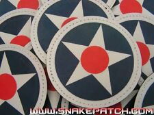 Patch Velcro PVC - COCARDE USAF - USAAF USA air force WW2 Snake Patch