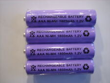 BT1600 - 4x 1.2V 1800 mAh RECHARGEABLE BATTERIES