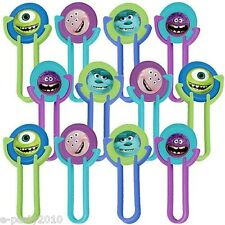 MONSTERS UNIVERSITY DISC SHOOTERS LAUNCHERS (12)~ Birthday Party Supplies Favors