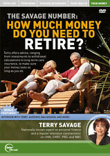 Terry Savage: The Savage Number: How Much Money Do You Need To Retire-Brand New!