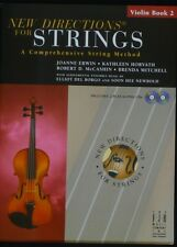 New Directions for Strings, Violin Book 2 with 2 CDs