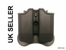 IMI Style Double Polymer Mag Holster S&W Sigma; Sig SAUER P 250 FS; H&K P30 UK
