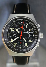 Bell & Ross by Sinn 144 GMT ST Space 2 Automatic Chronograph Watch Tachymeter