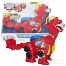 New Transformers Heatwave The Rescue Dinobot Figure SFX Bots Playskool Official