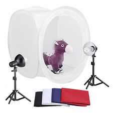 Neewer Photography Tent Shooting Kit 1 Softbox 2 30W Studio Light 2 Tripod Stand