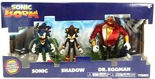 Tomy - Sonic Boom 3 inch Figure 3 Pack Diorama - Sonic, Shadow & Dr. Eggman