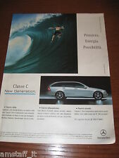 *AM2=MERCEDES CLASSE C=PUBBLICITA'=ADVERTISING=WERBUNG=COUPURE=