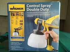 Wagner 0518050 Control Spray Double Duty Paint Sprayer New