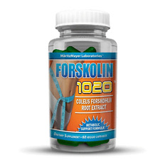 Forskolin Coleus Forskohlii Root Extract 20% 250mg Weight Loss Fat Burner 1020