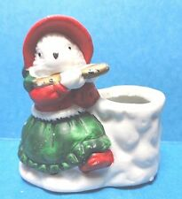 House of Lloyd's Mini Bisque Girl Mouse Figurine