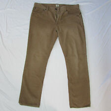J. Crew Men Classic Corduroys Fashion Work Pants Light Beige Size 36W 32L