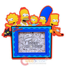 The Simpson Family Magnet Picture Frame Homer Bart Lisa Meggie PVC Photo Frame