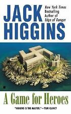 A GAME FOR HEROES by Jack Higgins (2002, Paperback)
