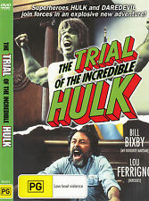 The Trial of The Incredible Hulk-1989-Bill Bixby- Movie-DVD