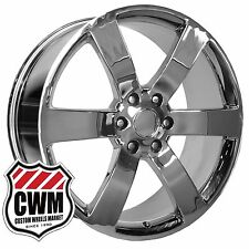 22 inch OE Performance 165C Chevy Trailblazer SS Wheels Chrome Rims 6x5.00 6x127
