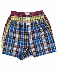 3 Pack TOMMY HILFIGER mens WOVEN BOXERS M 32-34 $39.50 NEW