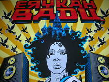 Emek Erykah Badu Russia Silkscreen Print 2008 Limited Edition Concert Poster
