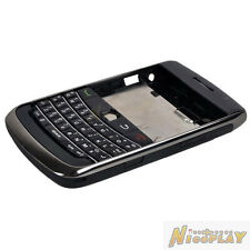 New Full Housing Case Cover + Kepyad Replace For Blackberry Bold 9700 9780 Black