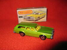 Matchbox Lesney Superfast Number 74 Cougar Villager