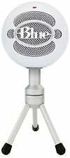 Blue Microphones Snowball Ice Usb Micrófono Cardioide Con Ajustable Mic Stand