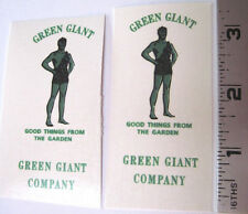 Tonka Green Giant delivery stake truck water slide decal set
