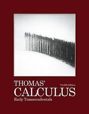 Thomas' Calculus Early Transcendentals by George B Thomas