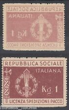 RSI E LUOG. - FRANCH., FM N.1d , DECALCO, NUOVO (*) SG WITHOUT  GUM RIF.C49