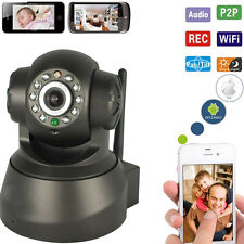 Wireless Network Baby Monitor Security IP Camera P2P Motion WIfi IR Night V