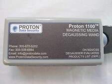 Proton 1100 Degaussing Wand NSA Listed Security Permanent Data Erasure Magnetic