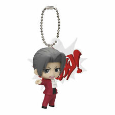 Phoenix Wright Ace Attorney Miles Edgeworth Mitsurugi Reiji Mascot Key Chain