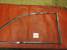 MGB GT, Original Chrome Right Rear Quarter Glass Assembly, !!