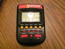 Yahtzee vintage electronic handheld game TESTED works great