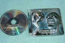 Iron Maiden DVD-Single Different World includes souvenir poster 2007 calendar