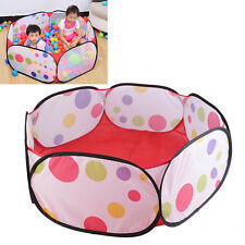 Kids Play Game House Children Tent Ocean Ball Pool Baby Educational Toy