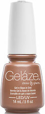 Gelaze by China Glaze Gel Color Polish Camisole - 14 mL / 0.5 fl oz - 81627