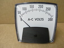 PANEL METER ac volts 0-300 new unused