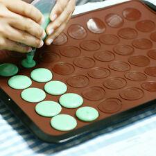 MACARON Silikon Backmatte Backform Backfolie Matte Kuchenform Keksform Keks Form
